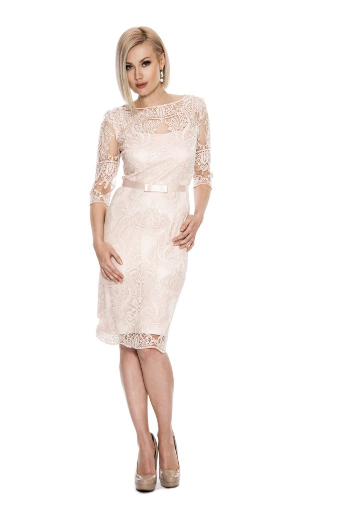 Emma Street es761-blush Mother of the Bride Off the Rack