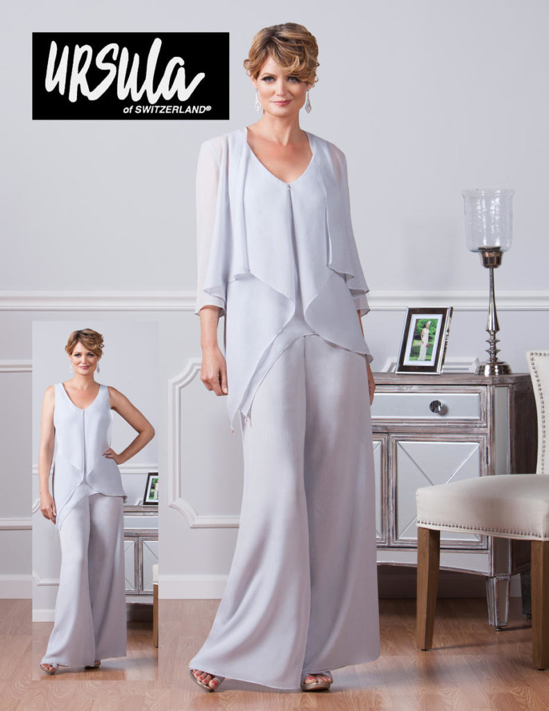 ursula-11382_ Off the Rack / Mother of the Bride / Pantsuit / Special Occasion Dress