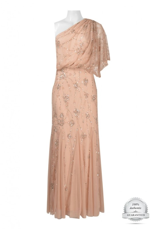 adrianna_papell_091860320_blush_ Off the Rack / Bridesmaids / Special Occasion