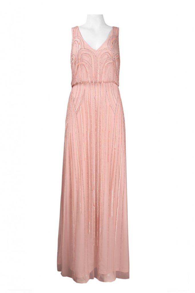 adrianna_papell_091900120_blush Off the Rack / Special Occasion / Bridesmaids Dress