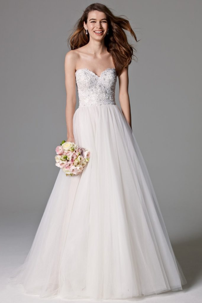 Watters Sheridan gown - The Blushing Bride boutique in Frisco, Texas