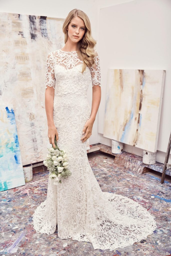 Watters Pauline 2015B Spring 2017 - The Blushing Bride boutique in Frisco, Texas
