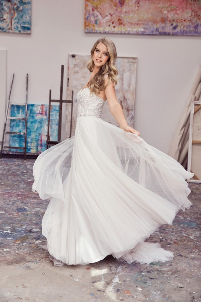Watters Rosina 2070B Spring 2017 - The Blushing Bride boutique in Frisco, Texas