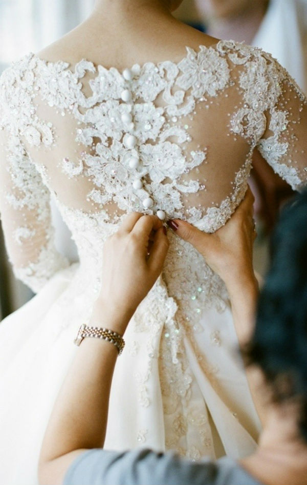 Bridal Gown Alterations at The Blushing Bride boutique in Frisco, Texas