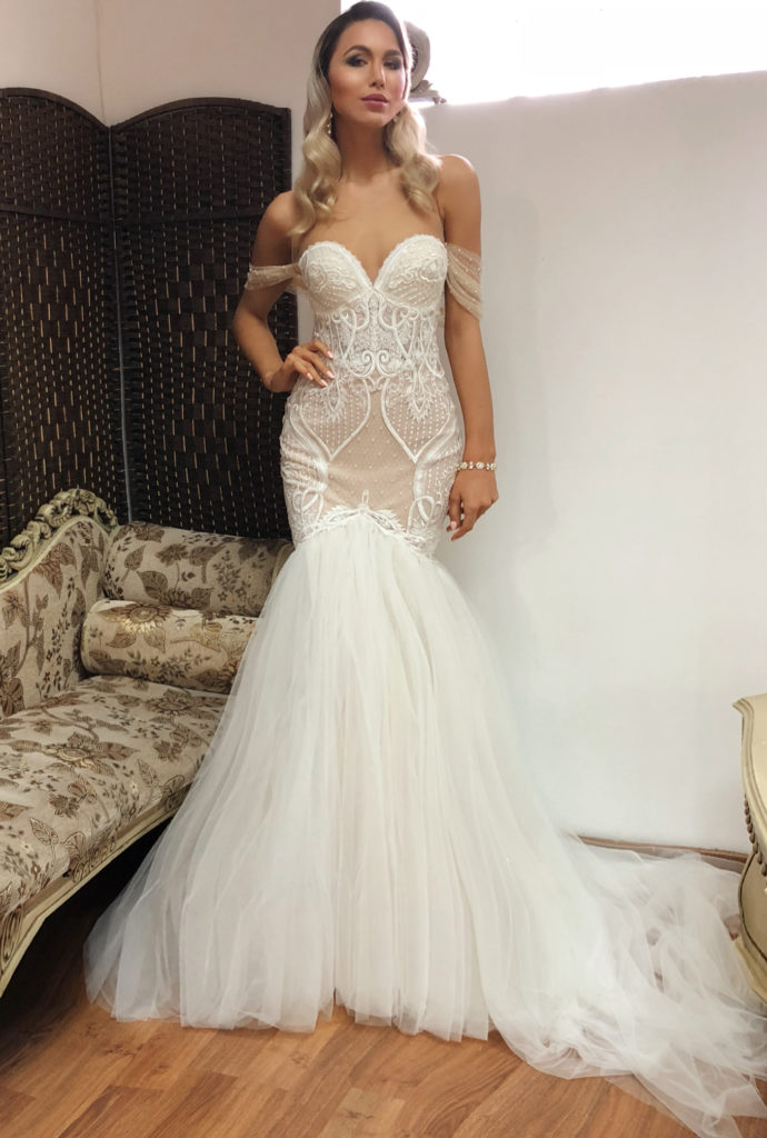 Naama & Anat Couture Bridget - The Blushing Bride Boutique in Frisco, Texas