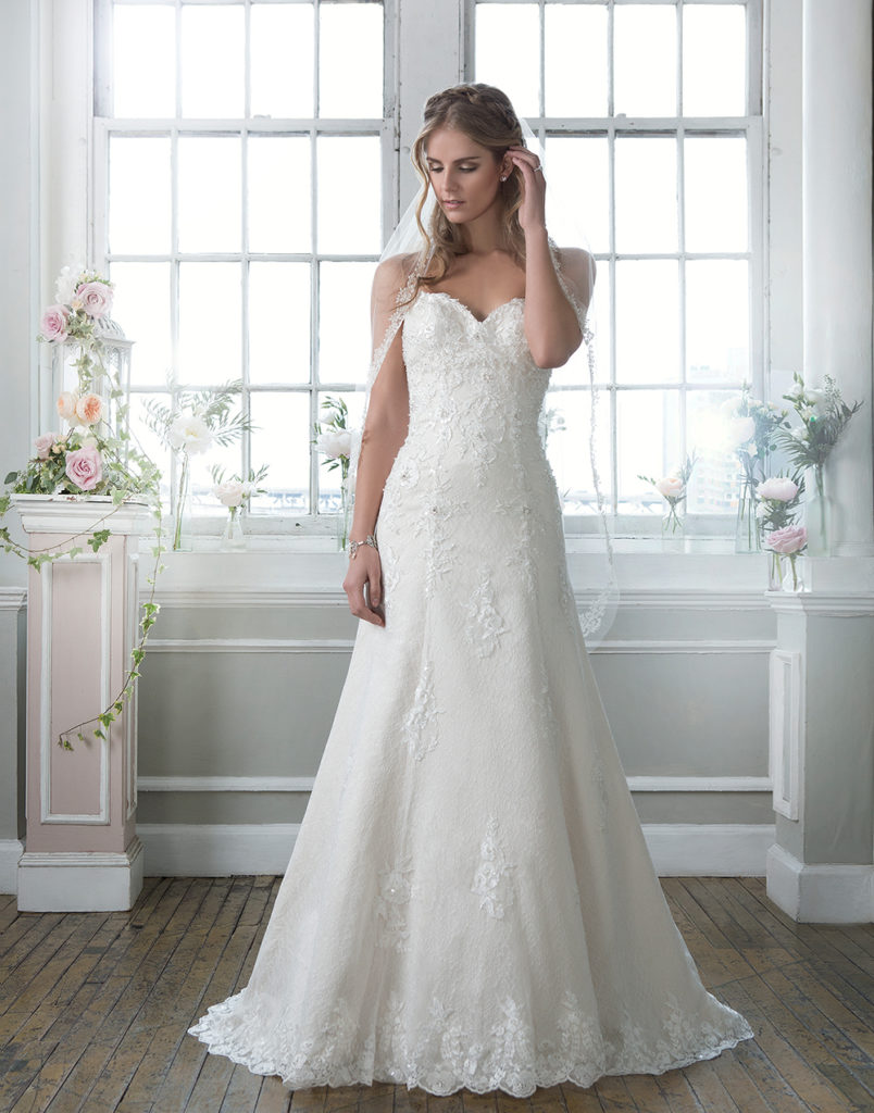 Lillian West 6384 - The Blushing Bride boutique in Frisco, Texas