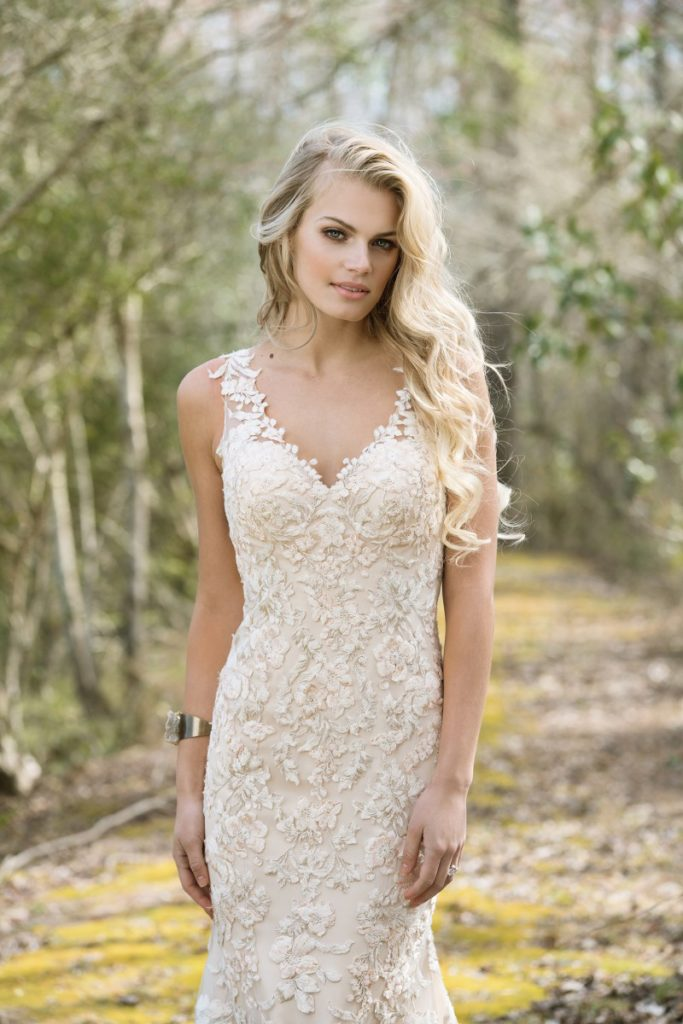 Lillian West 6472 - The Blushing Bride boutique in Frisco, Texas for Plus Size Wedding Gowns