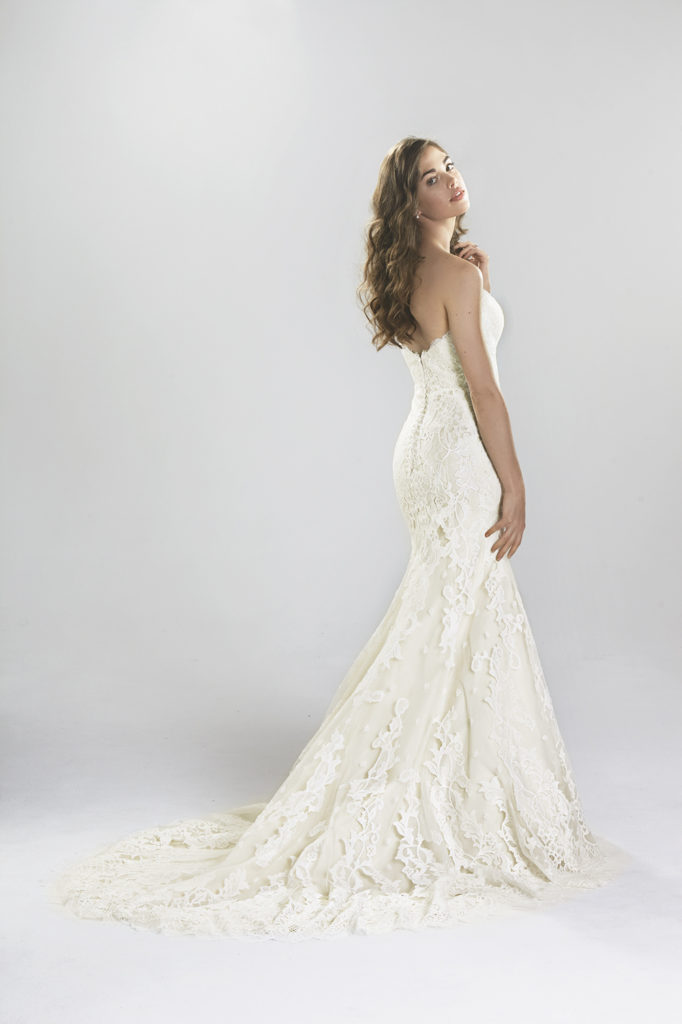 Lillian West 6399 - The Blushing Bride boutique in Frisco, Texas for Plus Size Bridal Gowns