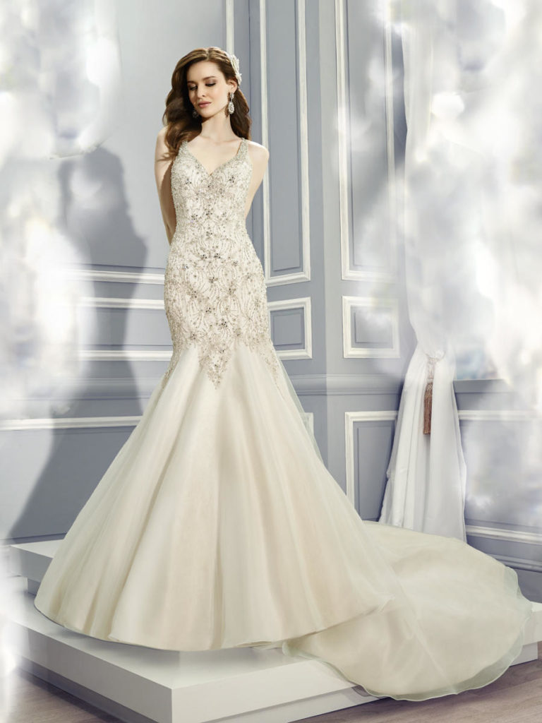 Moonlight Bridal H1285 - The Blushing Bride boutique in Frisco, Texas for Plus Size Wedding Gowns