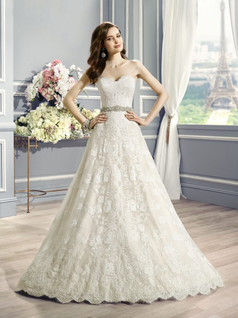 Moonlight Bridal H1283 - The Blushing Bride boutique in Frisco, Texas for Plus Size Wedding Gowns