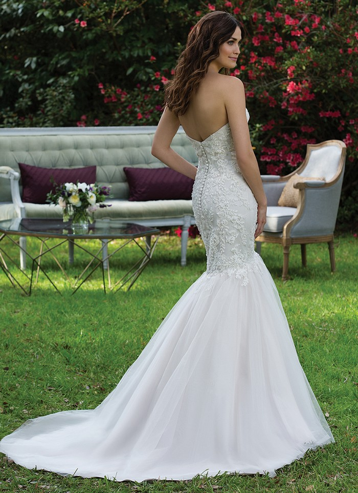 Sincerity Bridal 3944 - The Blushing Bride boutique in Frisco, Texas for Plus Size Wedding Gowns