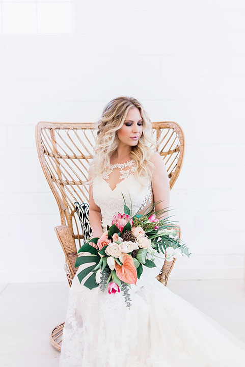 Palm Springs inspired photoshoot featuring styles by Lillian West - The Blushing Bride boutique in Frisco, Texas
