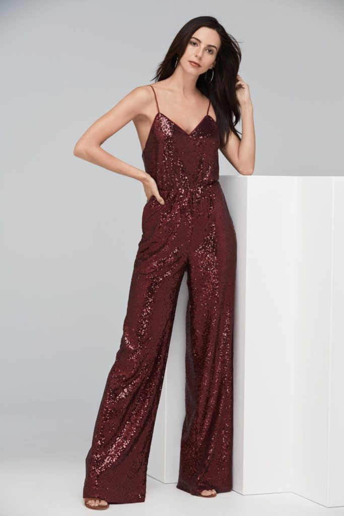 Watters 3304 Jackson Jumpsuit - The Blushing Bride boutique in Frisco, Texas