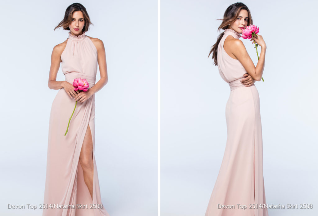 Watters Bridesmaids - Natasha Skirt - The Blushing Bride boutique in Frisco, Texas