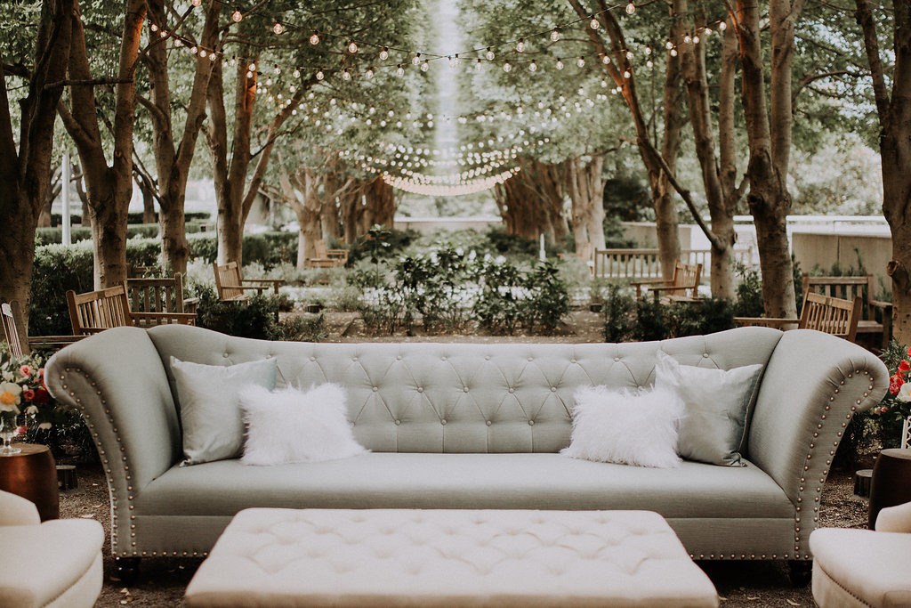Urban Garden Wedding Photoshoot - The Blushing Bride boutique in Frisco, Texas