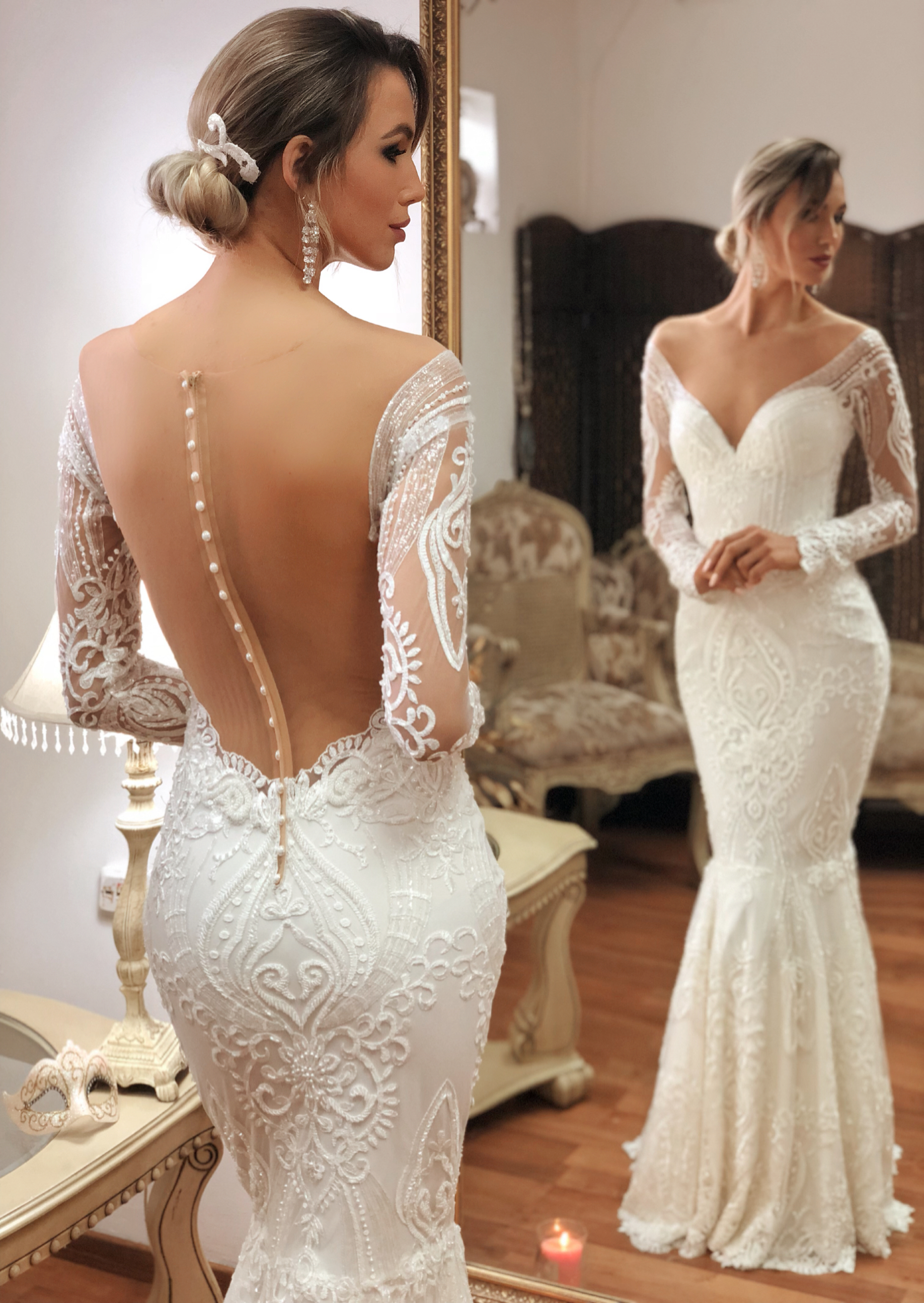 34d1f8952c Hayworth by Naama   Anat Couture - The Blushing Bride boutique in Frisco