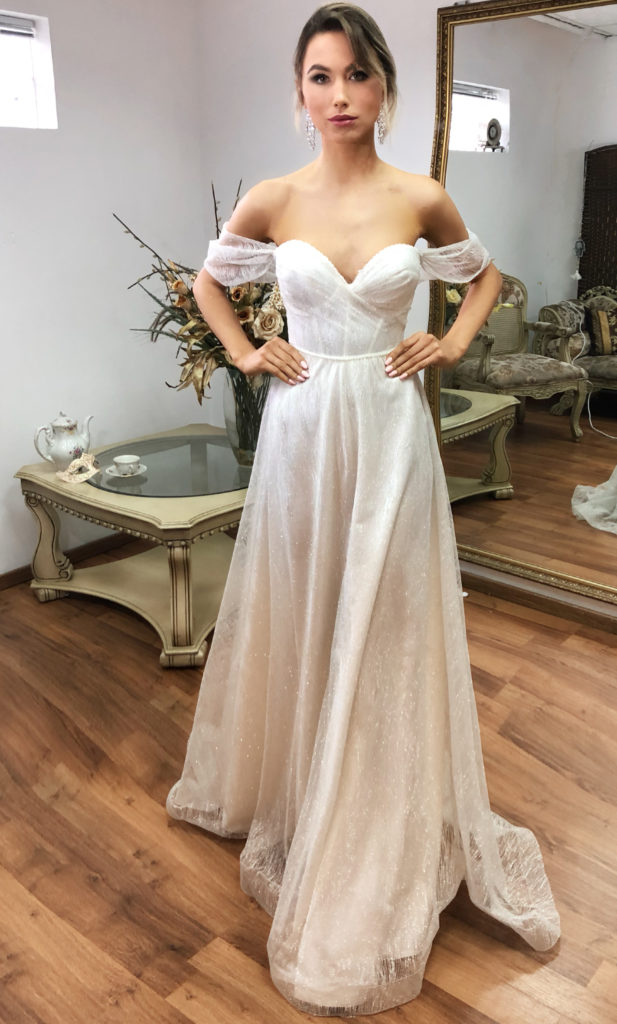 Naama & Anat Couture Jean - The Blushing Bride boutique in Frisco, Texas