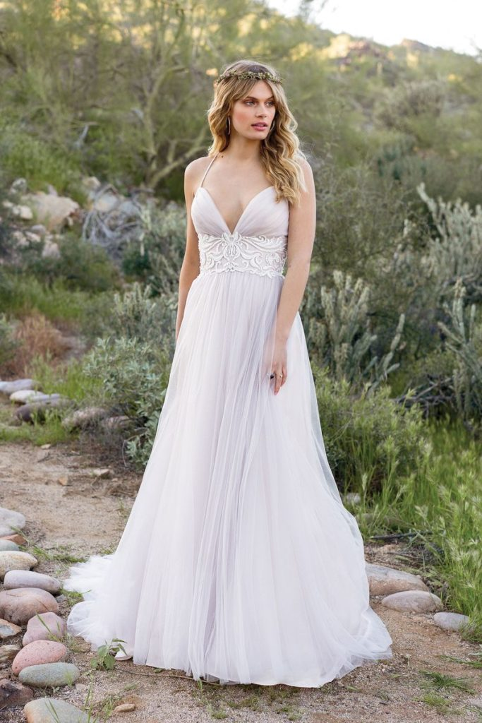 Lillian West 6530 - The Blushing Bride boutique in Frisco, Texas