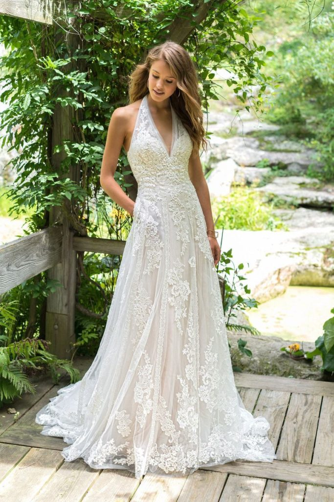 Lillian West Boho Chic And Romantic Wedding Gowns The