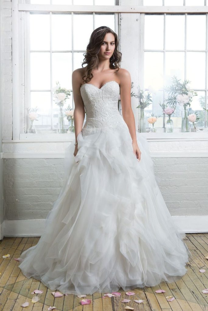 Lillian West 6479 - The Blushing Bride boutique in Frisco, Texas