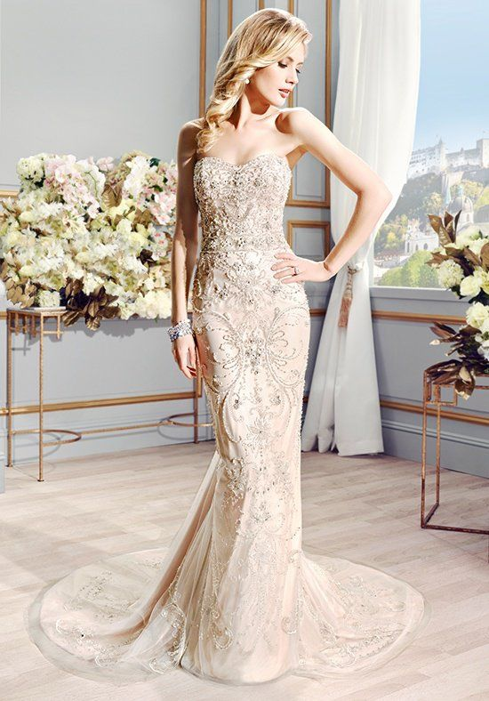 Val Stefani Couture D8094 - The Blushing Bride Boutique in Frisco, Texas