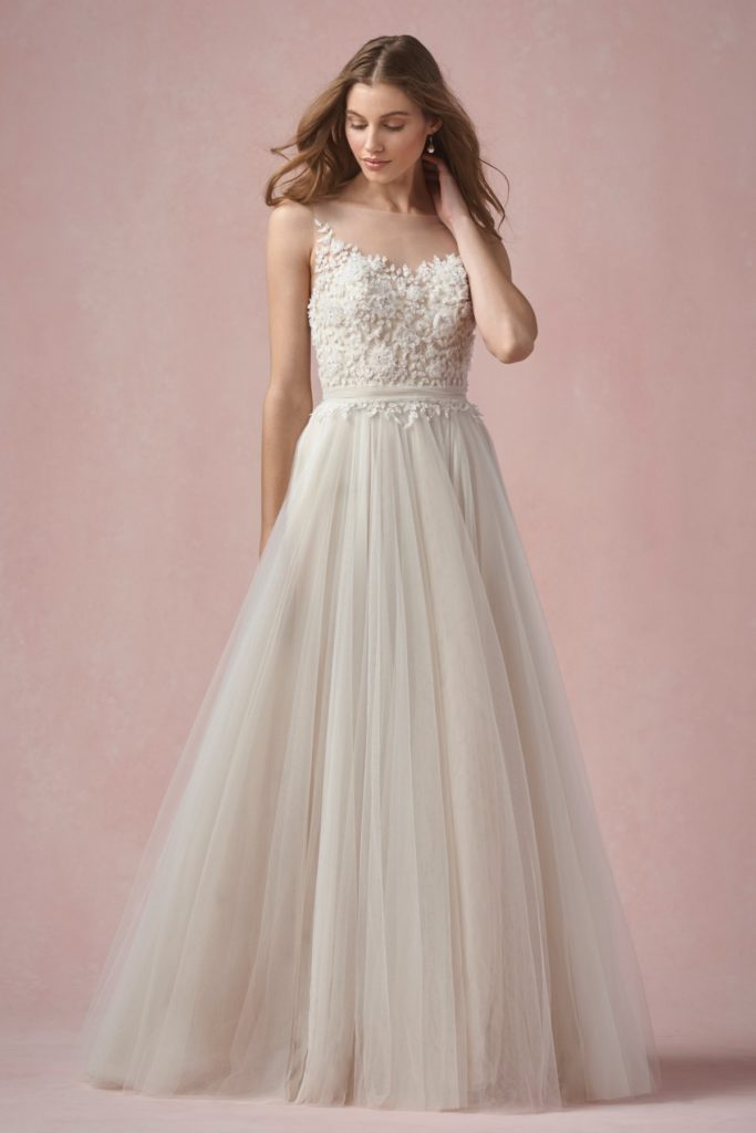 Elodie 55715   Willowby Brides   Willowby - The Blushing Bride boutique in Frisco, Texas
