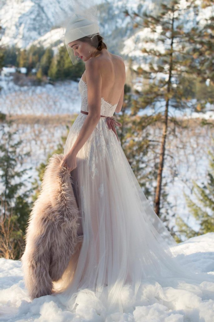 Willowby Fall 2018 Style 51604 Geranium - The Blushing Bride boutique in Frisco, Texas