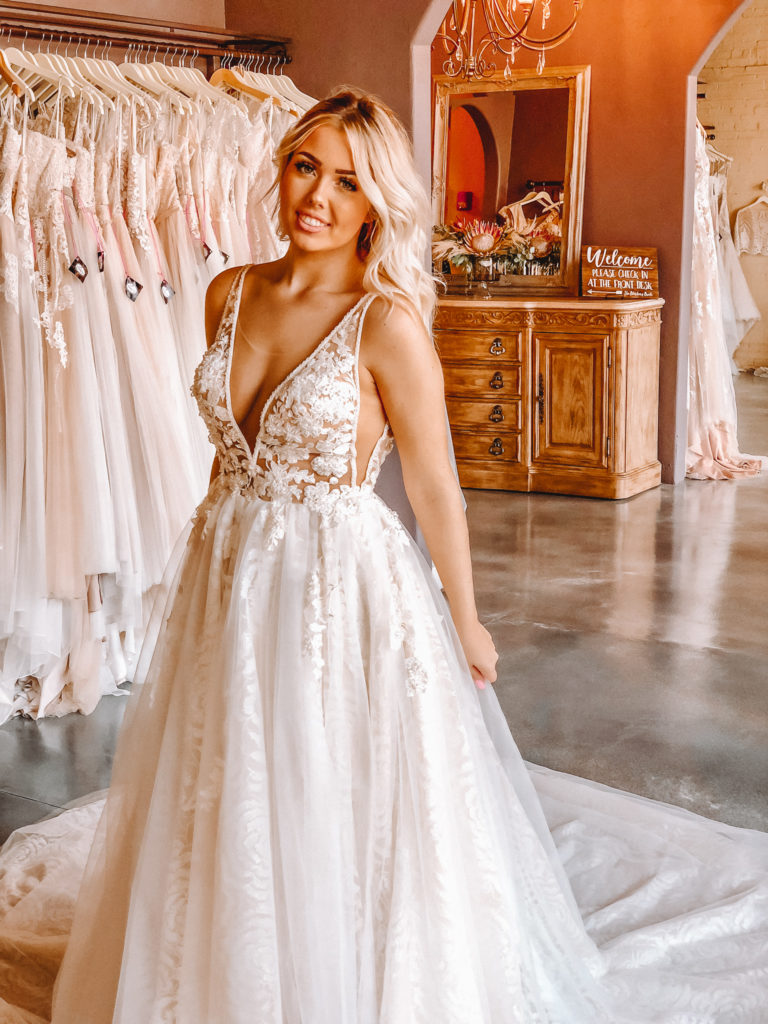 """Crystal Design """"Rainbow"""" ~ The Blushing Bride boutique in Frisco, Texas"""