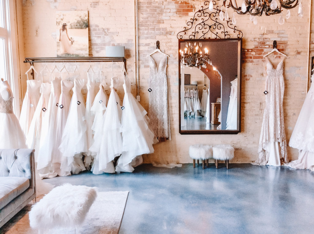 We have a large variety of 500+ wedding gown styles in our boutique! We also have an intimate area for our Plus Size Brides with an additional 200+ gowns. We feel every Bride deserves to have an incredible experience while shopping for their Dream Dress!