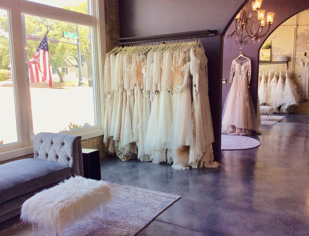 """The Blushing Bride boutique is a small, family owned business & each person who works at the shop is hand selected & is a close friend to our family. We want our Brides to feel """"at home"""" and comfortable during their experience, so it is important to us that you are taken care of from the moment you walk through our front door."""