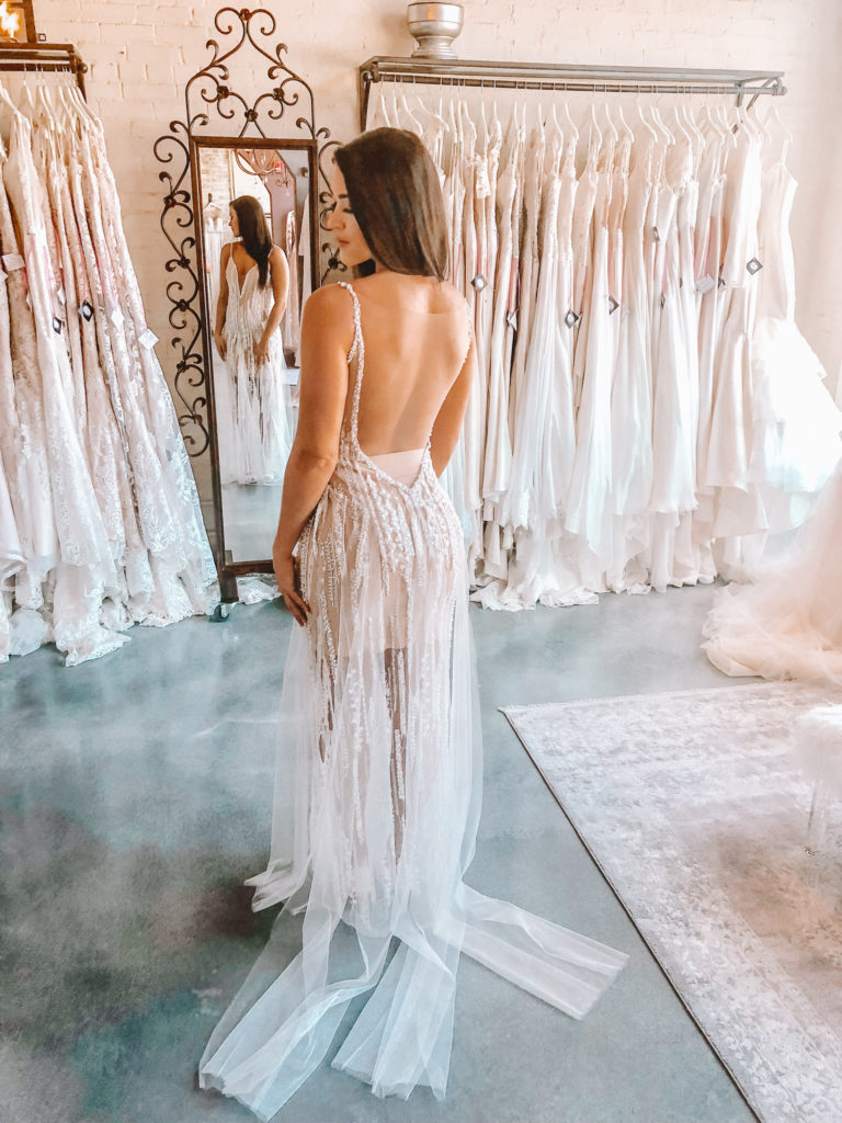 """Naama & Anat Couture """"Charleston"""" ~ customize your Charleston with keeping lining short or extend long for a more formal look."""