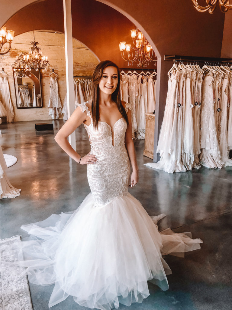 """Naama & Anat Couture """"Vogue"""" ~ The Blushing Bride boutique in Frisco, Texas"""