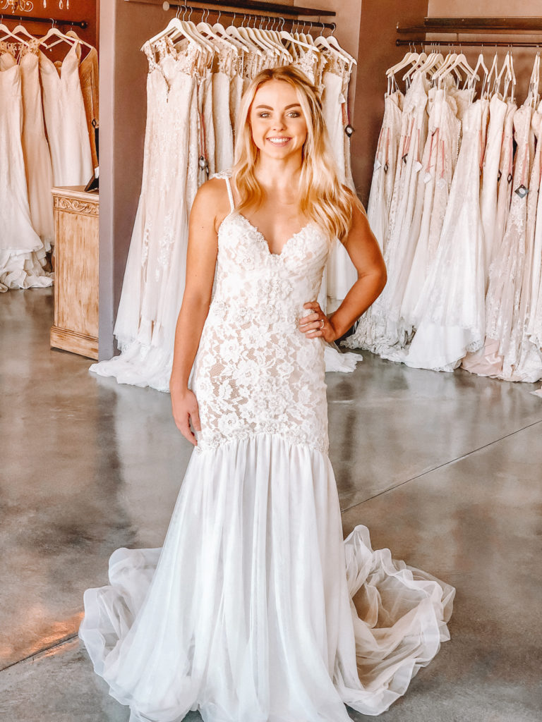 """Naama & Anat Couture """"Aphrodite"""" gown ~ The Blushing Bride boutique in Frisco, Texas"""