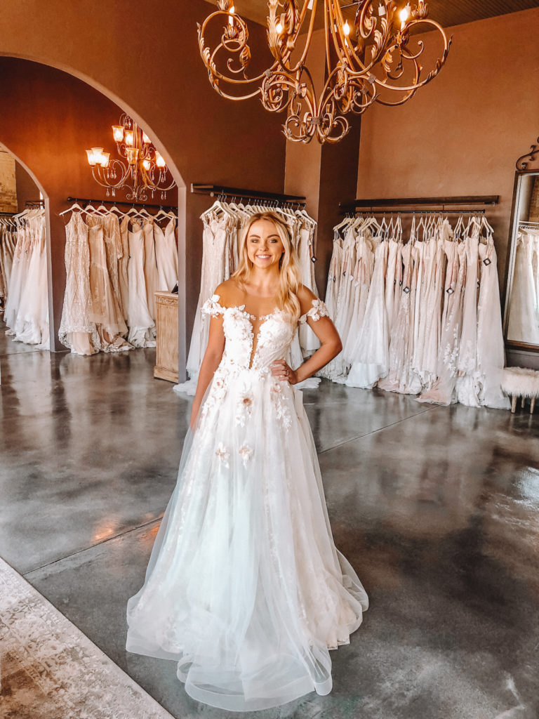 """Naama & Anat Couture """"Tango"""" gown ~ The Blushing Bride Boutique in Frisco, Texas"""