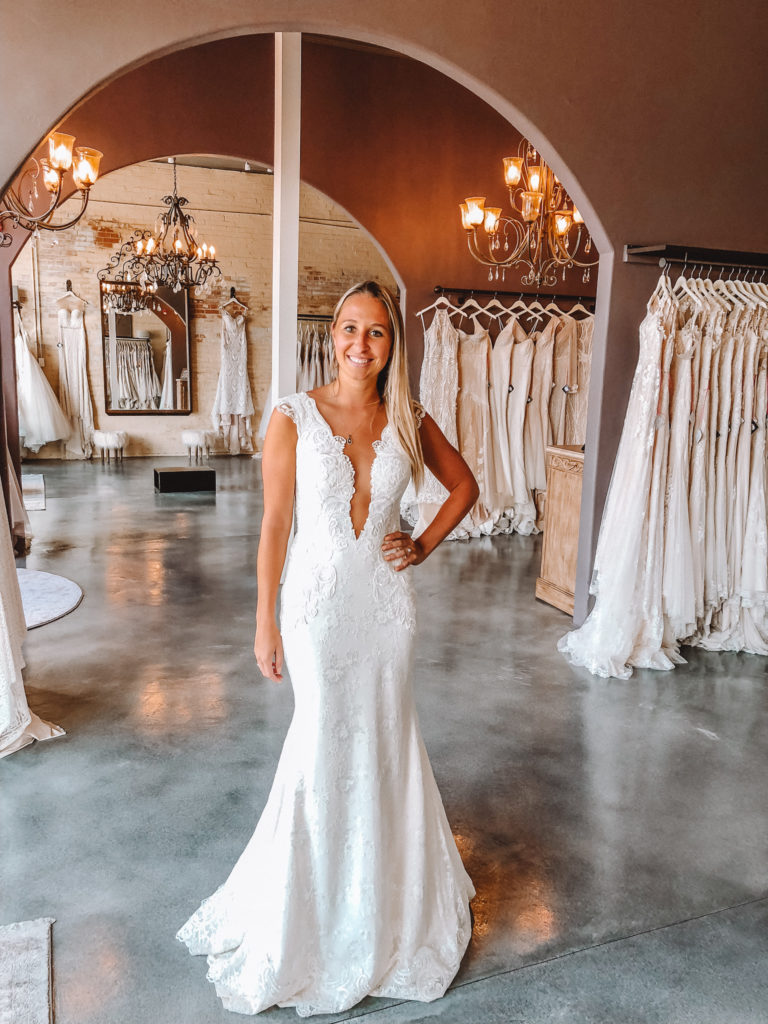 """""""Audrey"""" by Naama & Anat Couture ~ The Blushing Bride boutique in Frisco, Texas"""