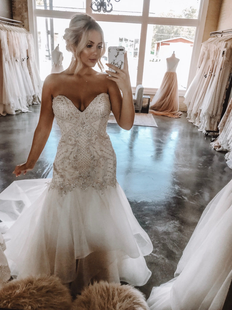 """""""Harper"""" by Moonlight Couture ~ The Blushing Bride boutique in Frisco, Texas"""