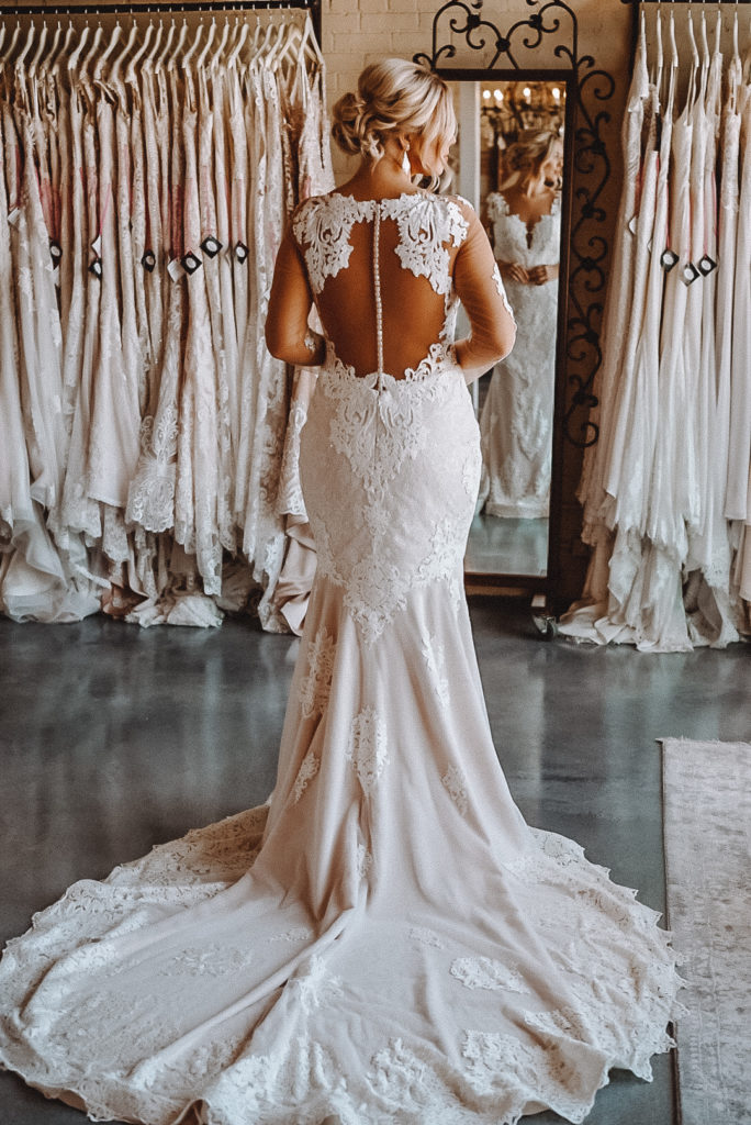 """Crystal Design """"Passion"""" ~ The Blushing Bride boutique in Frisco, Texas"""