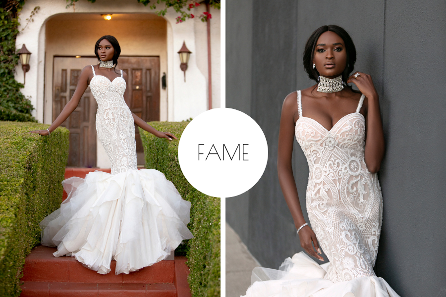 Fierce Lady Collection Fame by Naama & Anat Couture - The Blushing Bride Boutique in Frisco, Texas