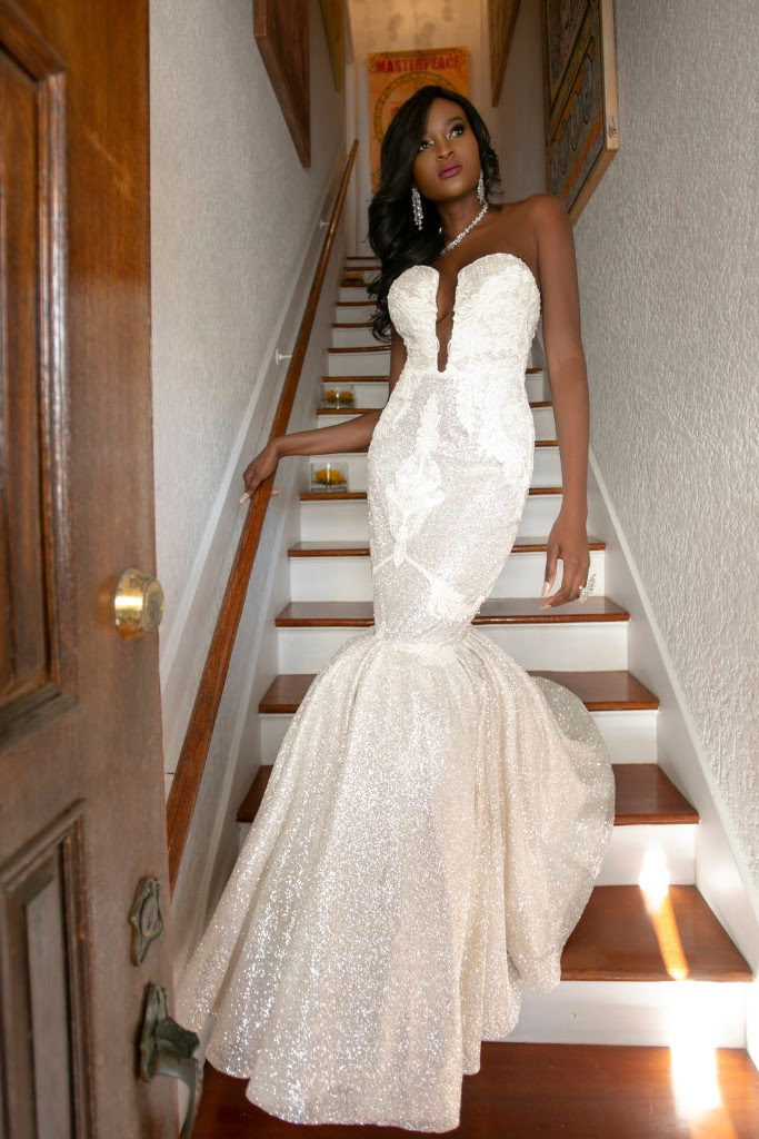 Fierce Lady Collection Glitter by Naama & Anat Couture - The Blushing Bride Boutique in Frisco, Texas