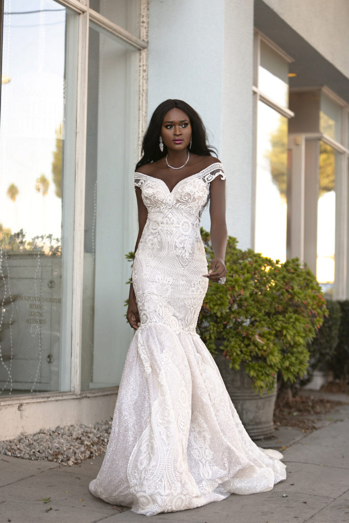 Fierce Lady Collection Wonder by Naama & Anat Couture - The Blushing Bride Boutique in Frisco, Texas