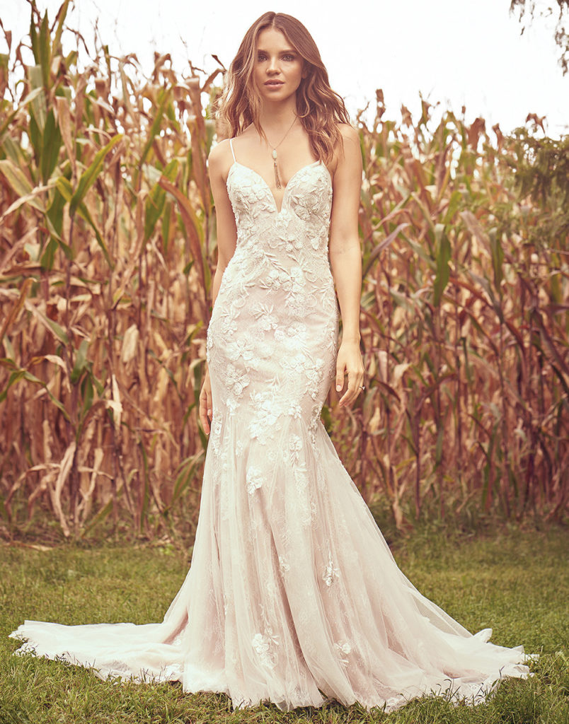 74b502f4051 Lillian West – Boho Chic and Romantic Wedding Gowns – The Blushing ...