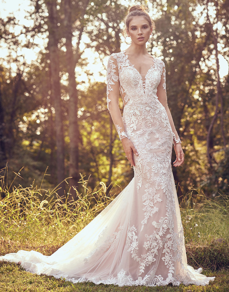 2e04bc74c14 Lillian West – Boho Chic and Romantic Wedding Gowns – The Blushing ...