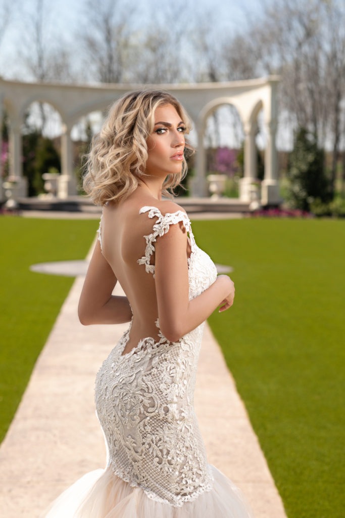 Cherry Blossom by Naama & Anat Couture - The Blushing Bride Boutique in Frisco, Texas
