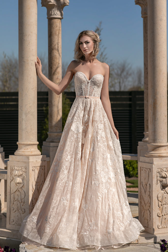 Gardenia by Naama & Anat Couture - The Blushing Bride Boutique in Frisco, Texas
