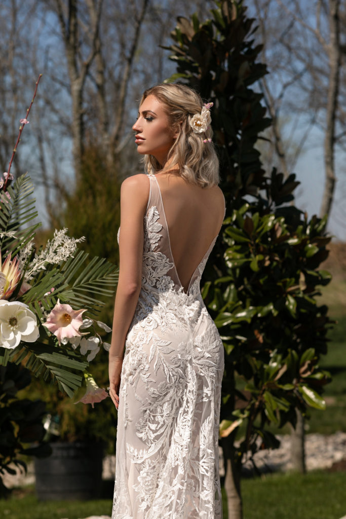Narcissus by Naama & Anat Couture - The Blushing Bride Boutique in Frisco, Texas