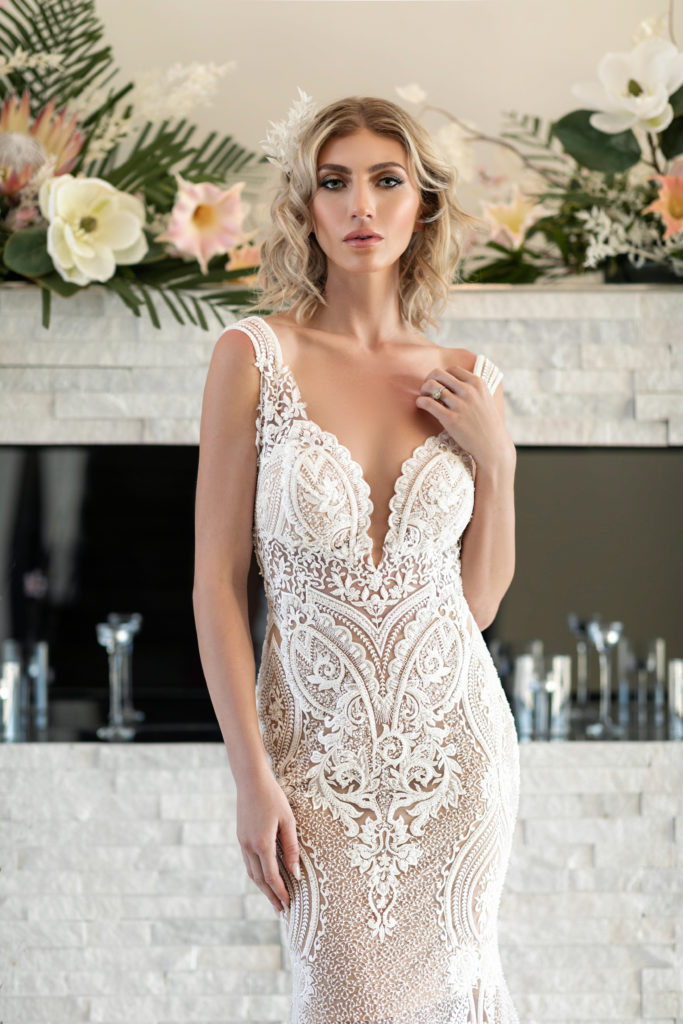 Orchid by Naama & Anat Couture - The Blushing Bride Boutique in Frisco, Texas