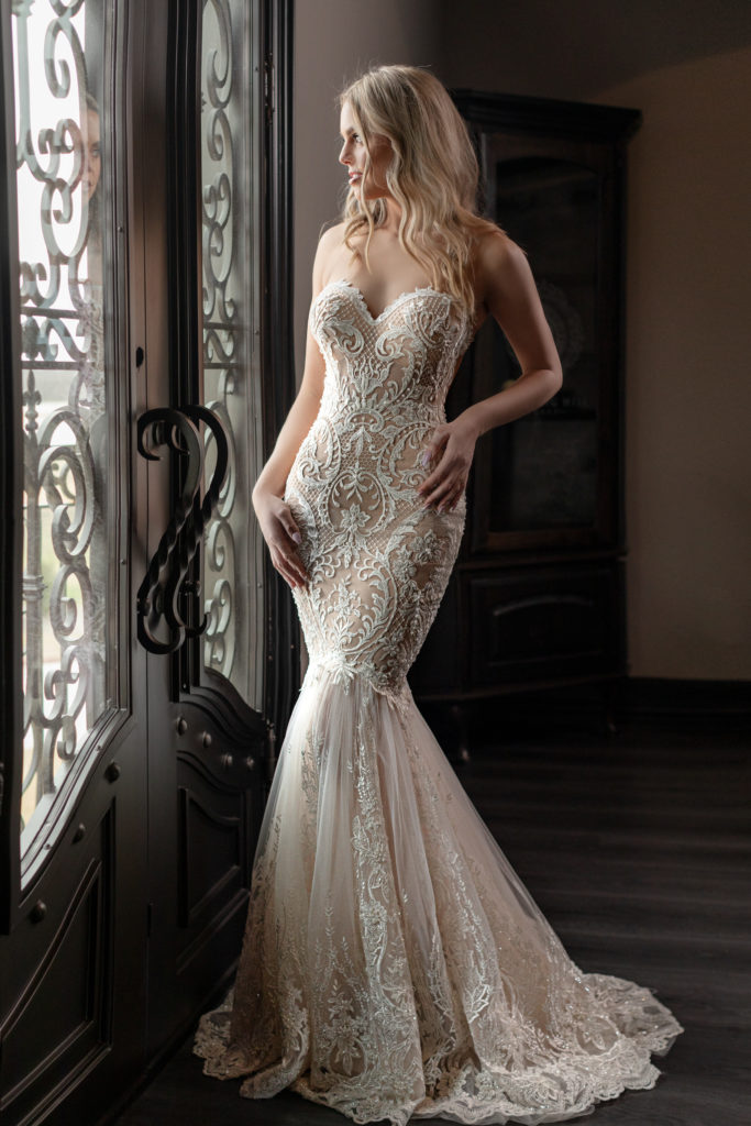 Ginger by Naama & Anat Couture - The Blushing Bride Boutique in Frisco, Texas