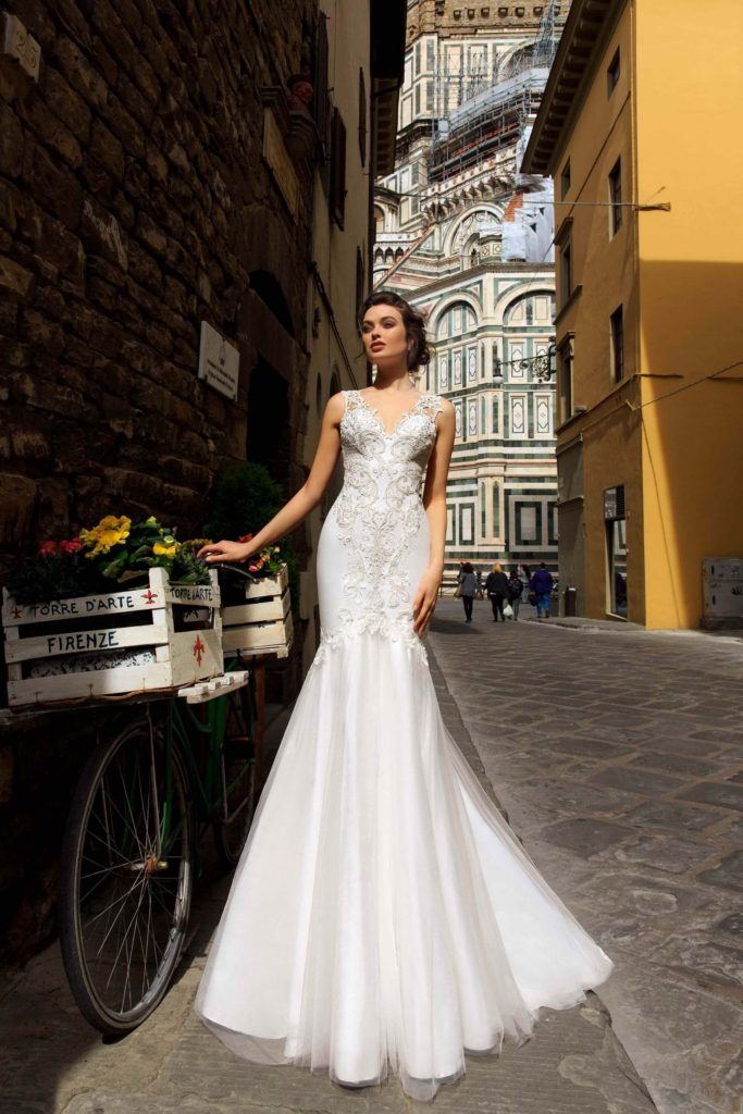 Lisa Gherardini by Innocentia, Color as Shown, Size 10, $1,990