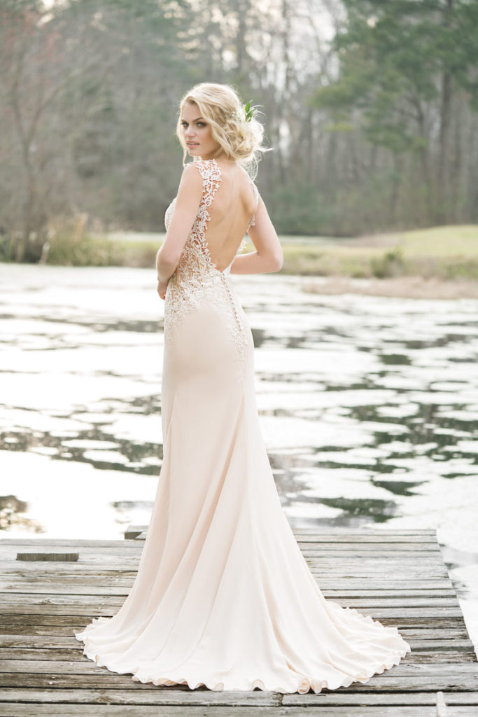 Lillian West 6454 - The Blushing Bride Boutique in Frisco, Texas