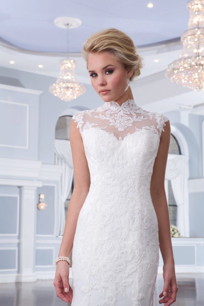 Lillian West 6298, Ivory as Shown, Size 8, $890